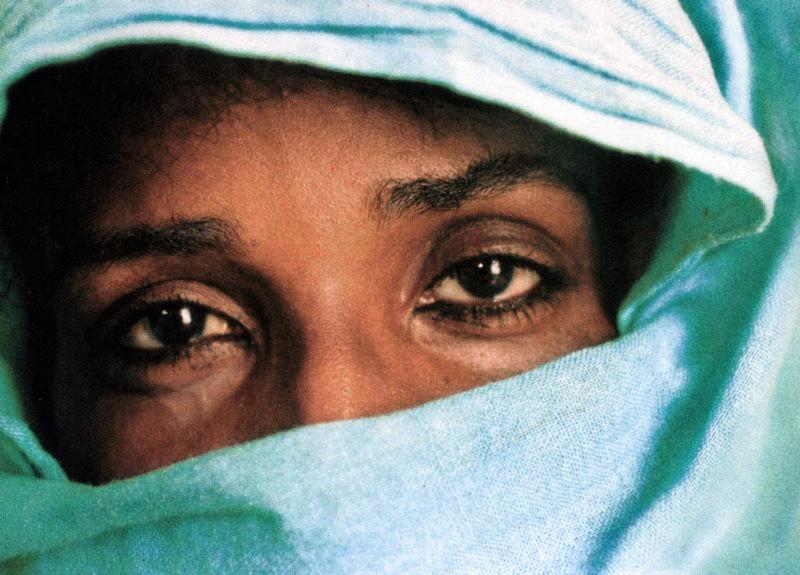 Amra, Nubian woman from Aswan, Egypt, mid-1990s © Viggo Rivad