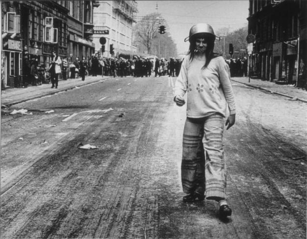 Youth Demonstration in Copenhagen 1973 © Viggo Rivad