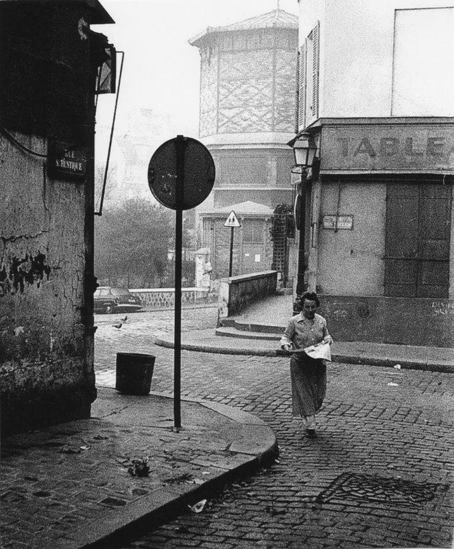 Montmartre, Paris 1956 © Viggo Rivad