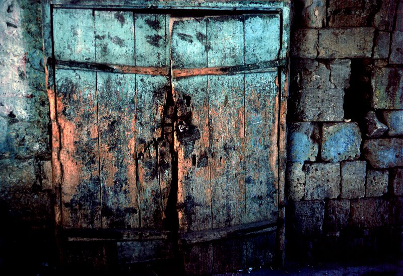 Old gate in Jerusalem 1977 © Viggo Rivad