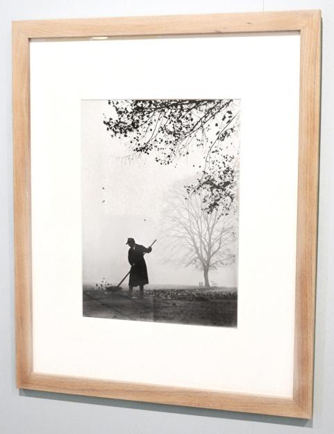 Park in Copenhagen 1948 by Viggo Rivad - taken by Jan Oberg at exhibition